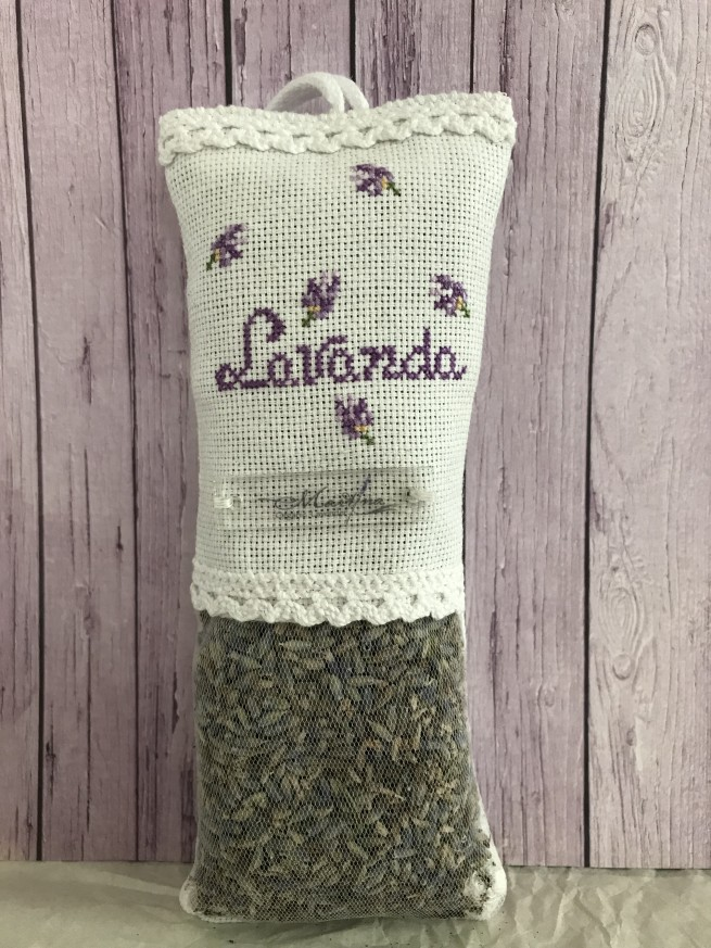 Handmade embroidered mini bag
